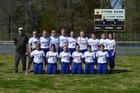 Mountain View Yellowjackets Girls Varsity Softball Spring 17-18 team photo.