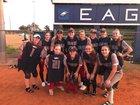 South Lake Eagles Girls Varsity Softball Spring 17-18 team photo.