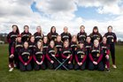 Enumclaw Hornets Girls Varsity Softball Spring 17-18 team photo.