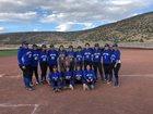 Laguna Acoma Hawks Girls Varsity Softball Spring 17-18 team photo.