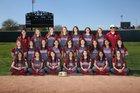 Downey Vikings Girls Varsity Softball Spring 17-18 team photo.
