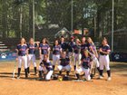 Terry Sanford Bulldogs Girls Varsity Softball Spring 17-18 team photo.
