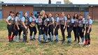 Ganesha Giants Girls Varsity Softball Spring 17-18 team photo.