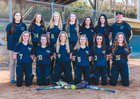 Hayesville Yellowjackets Girls Varsity Softball Spring 17-18 team photo.