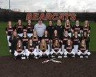 Monroe Bearcats Girls Varsity Softball Spring 17-18 team photo.
