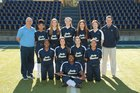 Pulaski Academy Bruins Girls Varsity Softball Spring 17-18 team photo.