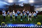 Stadium Tigers Girls Varsity Softball Spring 17-18 team photo.