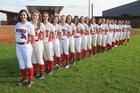 Mena Bearcats/Ladycats Girls Varsity Softball Spring 17-18 team photo.