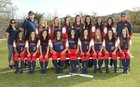 Tesoro Titans Girls Varsity Softball Spring 17-18 team photo.