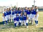 Garey Vikings Girls Varsity Softball Spring 17-18 team photo.