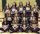 Chesterton Trojans Girls Varsity Softball Spring 17-18 team photo.