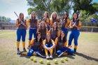St. David Tigers Girls Varsity Softball Spring 17-18 team photo.