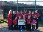 Tamarac Bengals Girls Varsity Softball Spring 17-18 team photo.