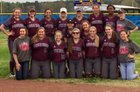 Foreman Gators Girls Varsity Softball Spring 17-18 team photo.