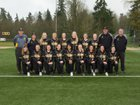Inglemoor Vikings Girls Varsity Softball Spring 17-18 team photo.