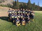 Kettle Falls Bulldogs Girls Varsity Softball Spring 17-18 team photo.