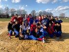 Swenson Arts & Tech Lion Girls Varsity Softball Spring 17-18 team photo.
