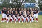 Palm Harbor University Hurricanes Girls Varsity Softball Spring 17-18 team photo.
