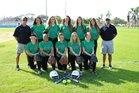 St. Petersburg Green Devils Girls Varsity Softball Spring 17-18 team photo.