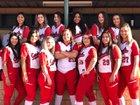 Eunice Cardinals Girls Varsity Softball Spring 17-18 team photo.