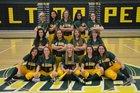 Los Alamos Hilltoppers Girls Varsity Softball Spring 17-18 team photo.