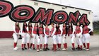 Pomona Red Devils Girls Varsity Softball Spring 17-18 team photo.