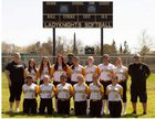 Rio Linda Knights Girls Varsity Softball Spring 17-18 team photo.