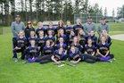 Friday Harbor Wolverines Girls Varsity Softball Spring 17-18 team photo.