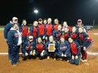 Cookeville Cavaliers Girls Varsity Softball Spring 17-18 team photo.