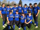 Analy Tigers Girls Varsity Softball Spring 17-18 team photo.