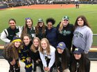 West Bloomfield Lakers Girls Varsity Softball Spring 17-18 team photo.