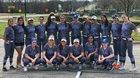 MacArthur Brahmas Girls Varsity Softball Spring 17-18 team photo.