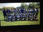 Dierks Outlaws Girls Varsity Softball Spring 17-18 team photo.