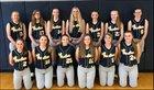 Franklinville Panthers Girls Varsity Softball Spring 17-18 team photo.