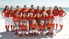 Raceland Rams Girls Varsity Softball Spring 17-18 team photo.