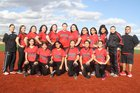 Hatch Valley Bears Girls Varsity Softball Spring 17-18 team photo.