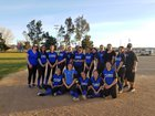 Cobalt Institute of Math & Science Academy  Girls Varsity Softball Spring 17-18 team photo.