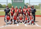 Murfreesboro Rattlers Girls Varsity Softball Spring 17-18 team photo.