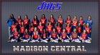 Madison Central Jaguars Girls Varsity Softball Spring 17-18 team photo.
