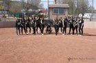 Raton Tigers Girls Varsity Softball Spring 17-18 team photo.