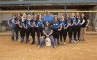 Breathitt County Bobcats Girls Varsity Softball Spring 17-18 team photo.