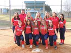 Franklin Academy Patriots Girls Varsity Softball Spring 17-18 team photo.