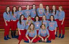 Melbourne Bearkatz Girls Varsity Softball Spring 17-18 team photo.