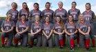 Franklin Panthers Girls Varsity Softball Spring 17-18 team photo.