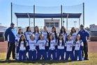 Los Lunas Tigers Girls Varsity Softball Spring 17-18 team photo.