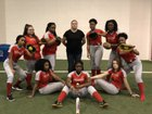 Life Center Academy  Girls Varsity Softball Spring 17-18 team photo.