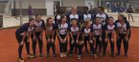 Branchville Yellow Jackets Girls Varsity Softball Spring 17-18 team photo.