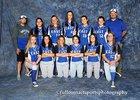 East Mountain Timberwolves Girls Varsity Softball Spring 17-18 team photo.