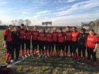 Springfield Senators Girls Varsity Softball Spring 17-18 team photo.