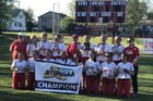 Saranac Chiefs Girls Varsity Softball Spring 17-18 team photo.